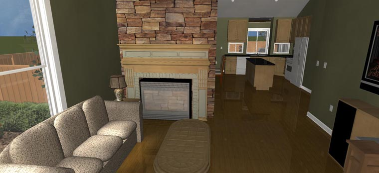 House Plan 50441 with 3 Beds, 3 Baths, 3 Car Garage Picture 18