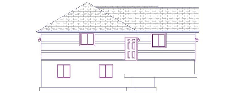 House Plan 50495 with 6 Beds, 3 Baths, 2 Car Garage Picture 1