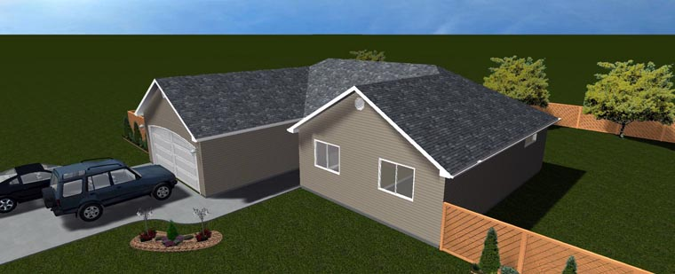 House Plan 50495 with 6 Beds, 3 Baths, 2 Car Garage Picture 22