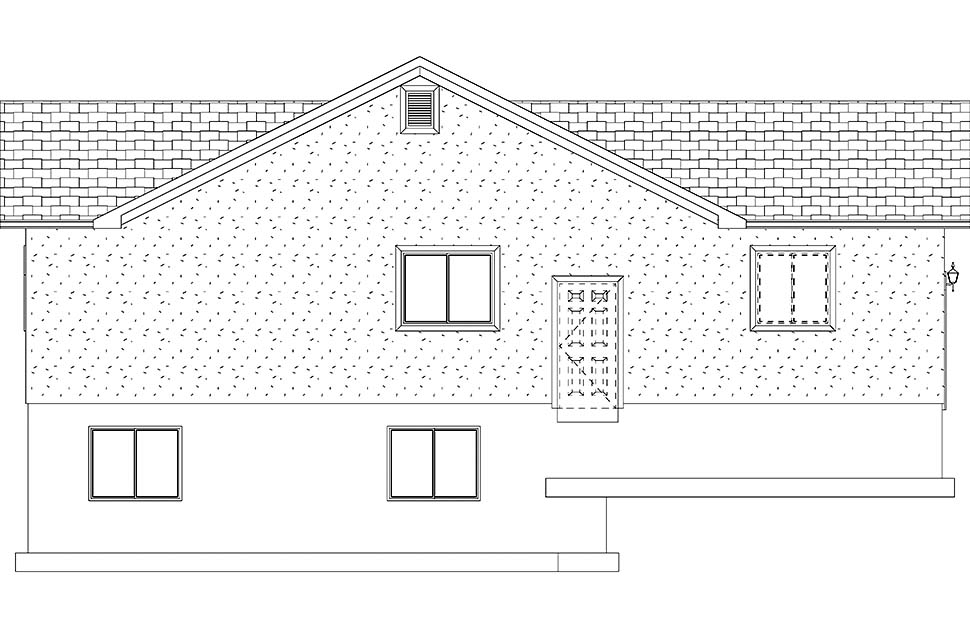 Traditional House Plan 50527 with 4 Beds, 3 Baths, 2 Car Garage Picture 14