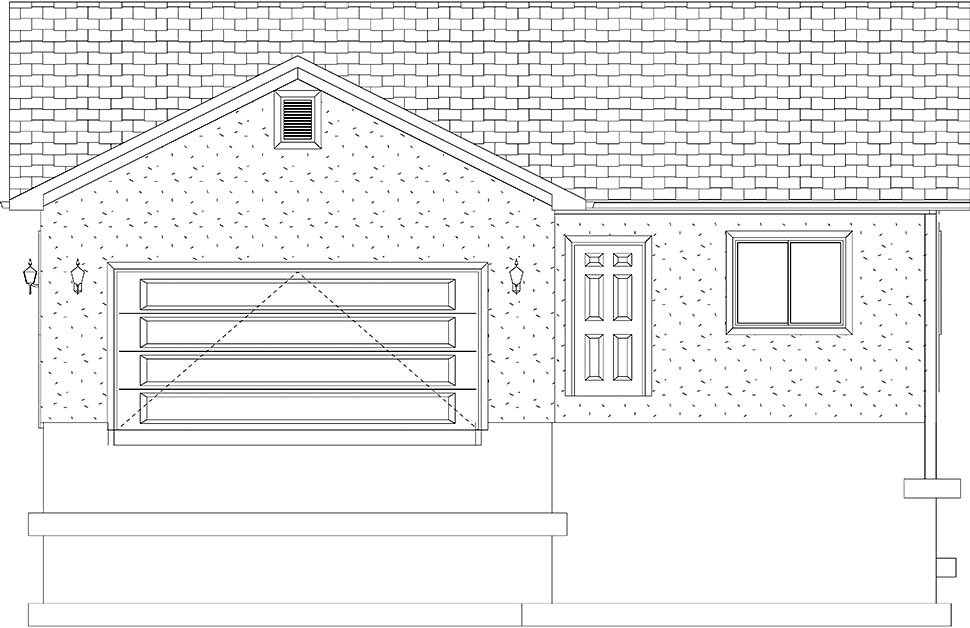 Traditional House Plan 50527 with 4 Beds, 3 Baths, 2 Car Garage Picture 16