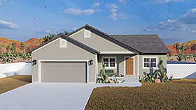 Plan Number 50534 - 2560 Square Feet