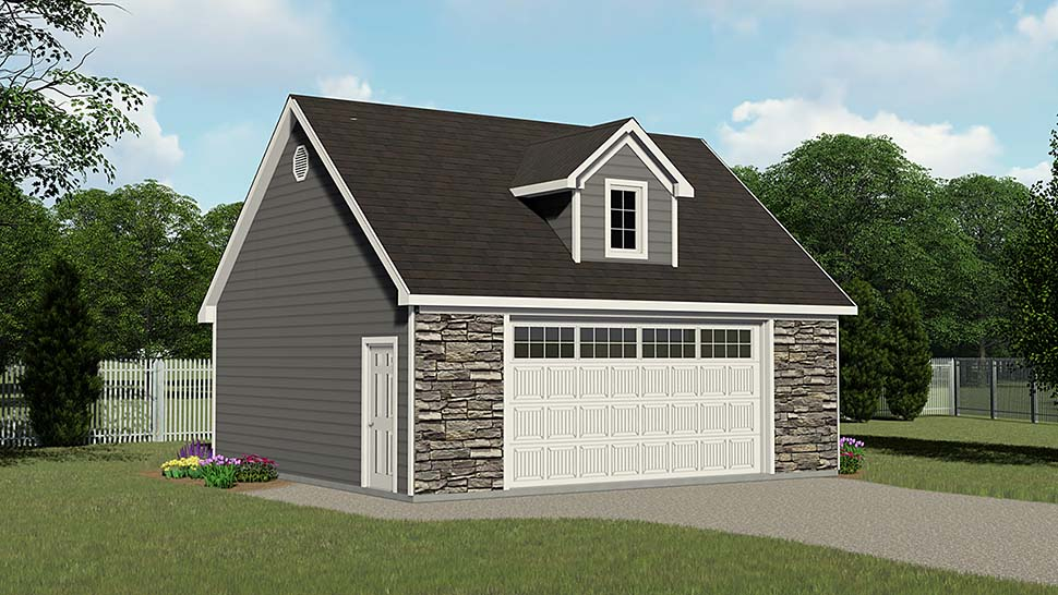 Garage Plan 50611 Elevation