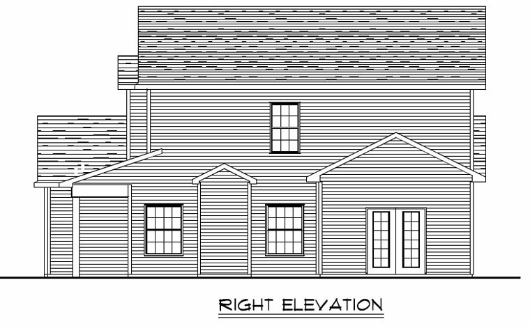 Colonial, Cottage, Country, Craftsman, Ranch, Traditional House Plan 50612 with 3 Beds, 3 Baths, 3 Car Garage Picture 2