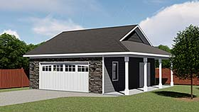 Garage Plan 50618 Elevation