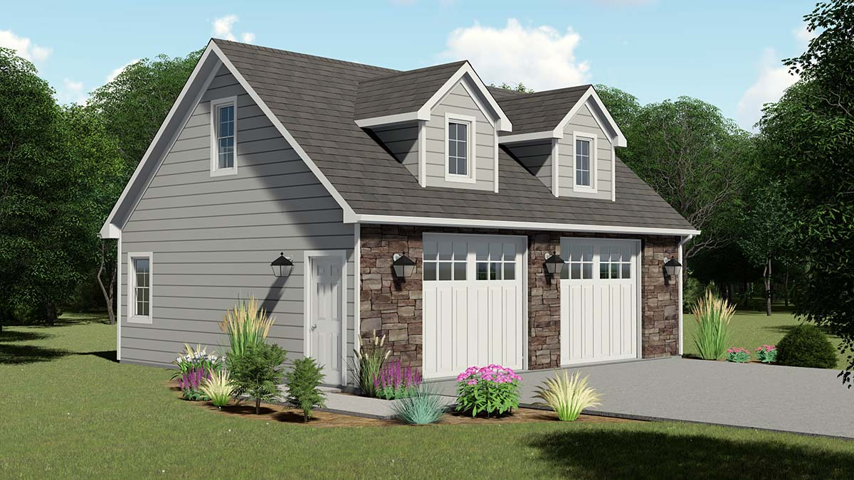 Garage Plan 50619 Elevation