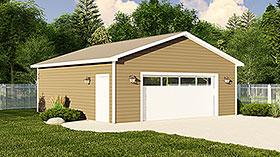 Garage Plan 50628 Elevation