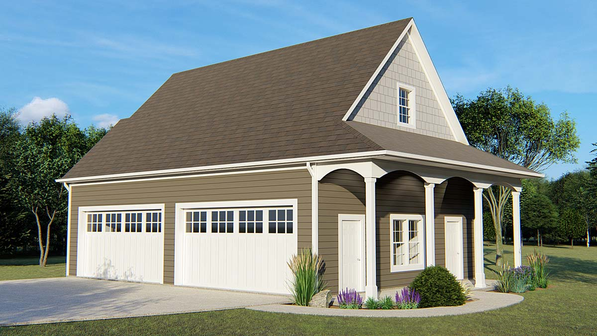 Garage Plan 50629 Elevation