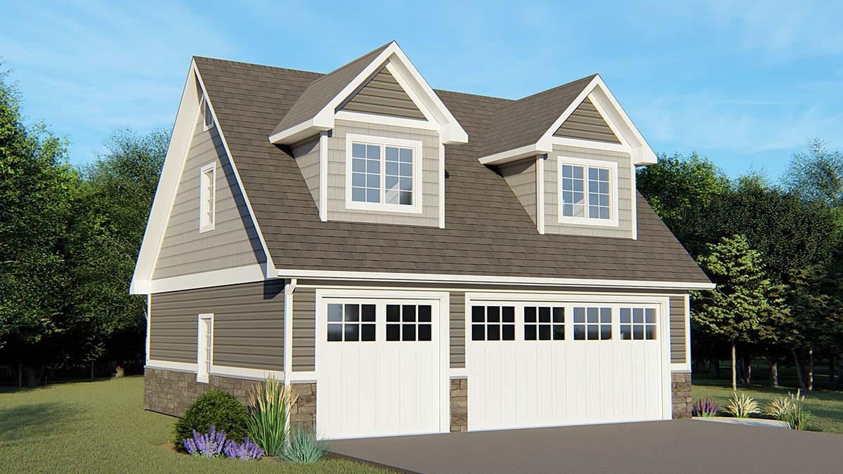 Garage Plan 50630 Elevation
