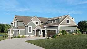 Traditional House Plan 50710 Elevation