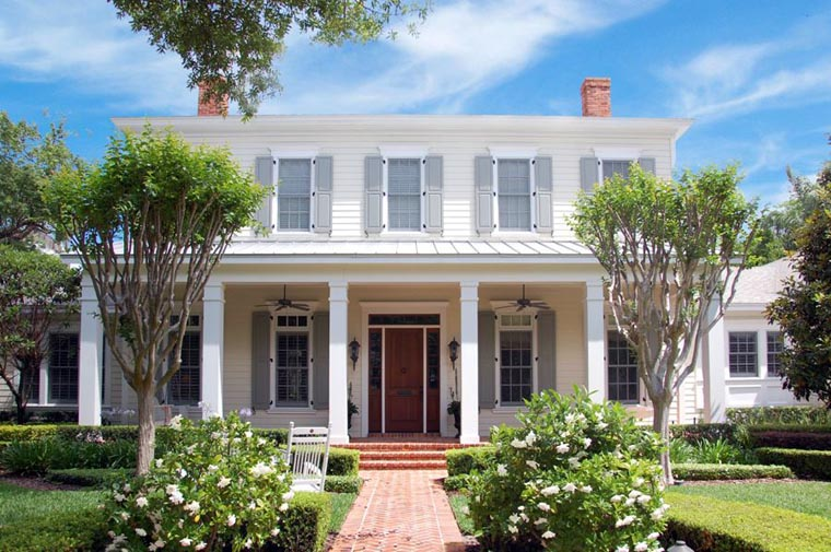 Colonial House Plan 50801