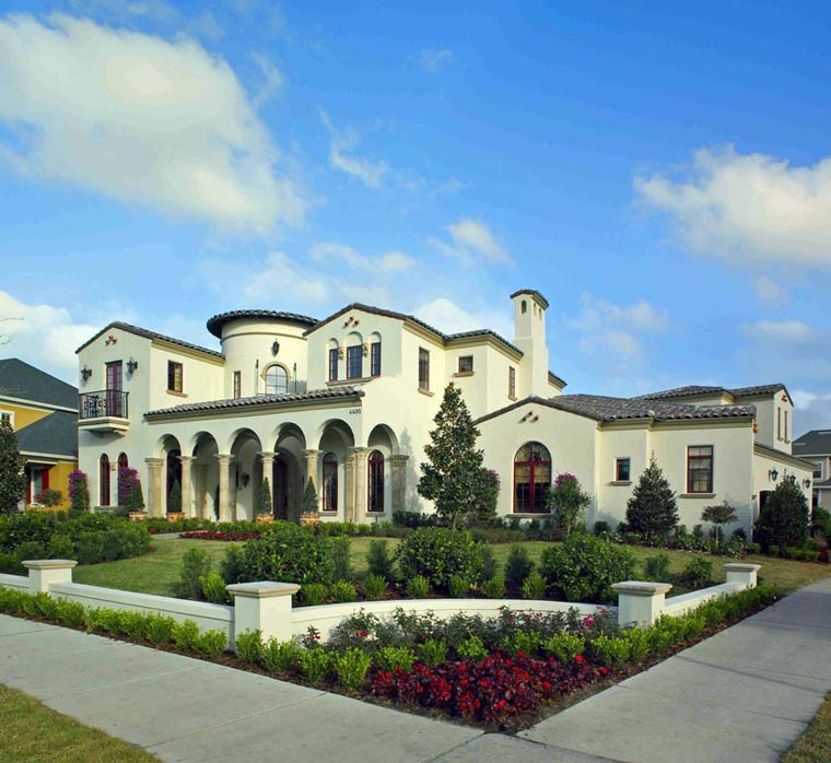 Mediterranean House Plan 50805