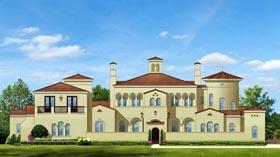 Mediterranean House Plan 50811 Elevation