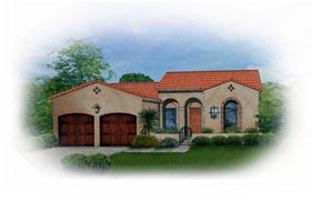 Mediterranean House Plan 50818 Elevation