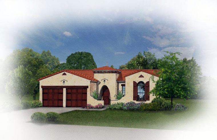 Mediterranean House Plan 50821 Elevation