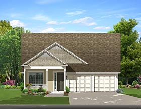 Florida House Plan 50871 Elevation