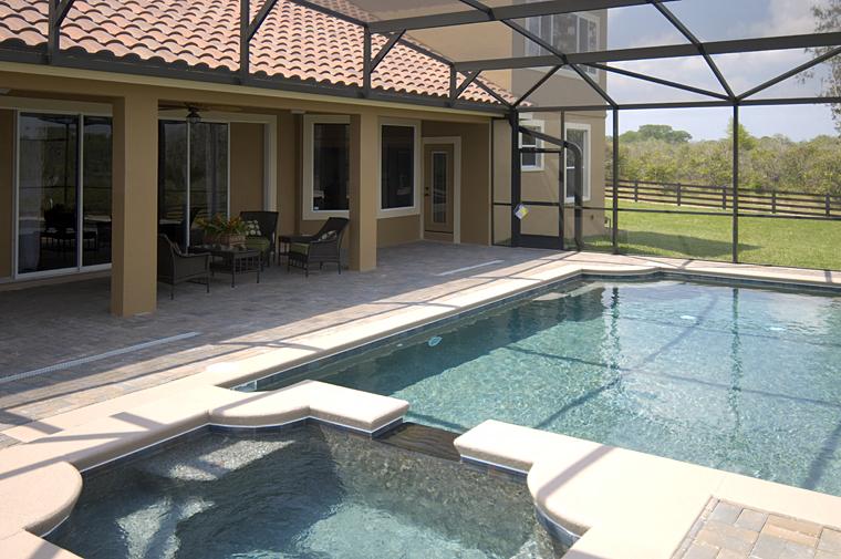 European Florida House Plan 50884