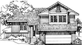 House Plan 51032 Elevation