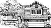 Plan Number 51032 - 1496 Square Feet