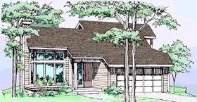 House Plan 51033 Elevation