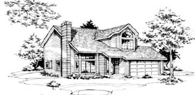 House Plan 51039 Elevation