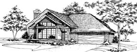 House Plan 51041 Elevation