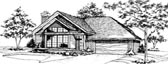 Plan Number 51041 - 1365 Square Feet