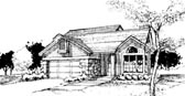 Plan Number 51044 - 1448 Square Feet