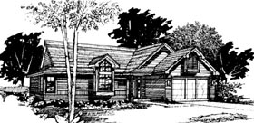 House Plan 51051 Elevation
