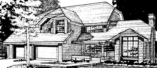 Country House Plan 51053 Elevation