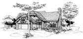 Plan Number 51054 - 1485 Square Feet
