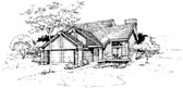 Plan Number 51061 - 1461 Square Feet