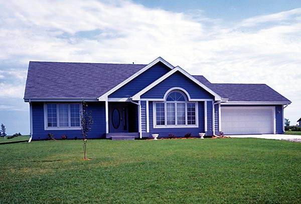 House Plan 51062 Elevation