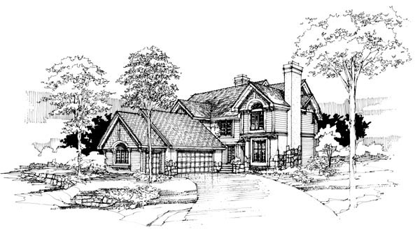 Traditional House Plan 51076 Elevation