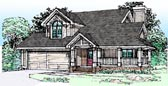 Plan Number 51088 - 1550 Square Feet