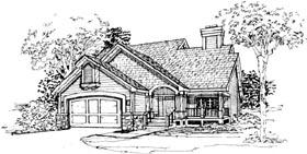 House Plan 51089 Elevation