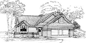 House Plan 51090 Elevation