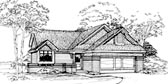 Plan Number 51090 - 1401 Square Feet