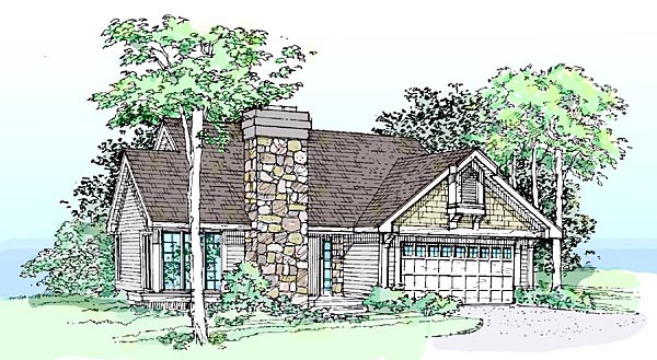 Country House Plan 51092 Elevation