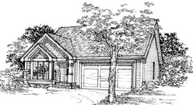 House Plan 51094 Elevation