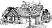 Plan Number 51094 - 1127 Square Feet