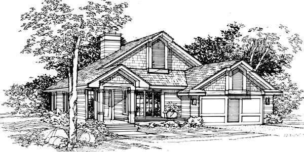 Country House Plan 51098 Elevation