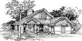 Plan Number 51098 - 1283 Square Feet