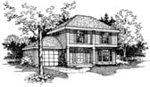 Plan Number 51127 - 1300 Square Feet