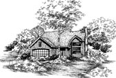 Plan Number 51128 - 1698 Square Feet