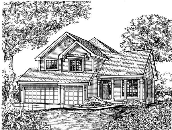 Country House Plan 51137 Elevation