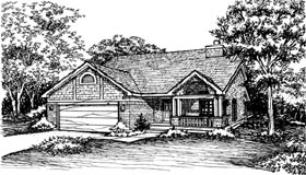 Country House Plan 51139 Elevation