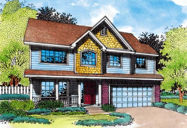 Country House Plan 51155 Elevation