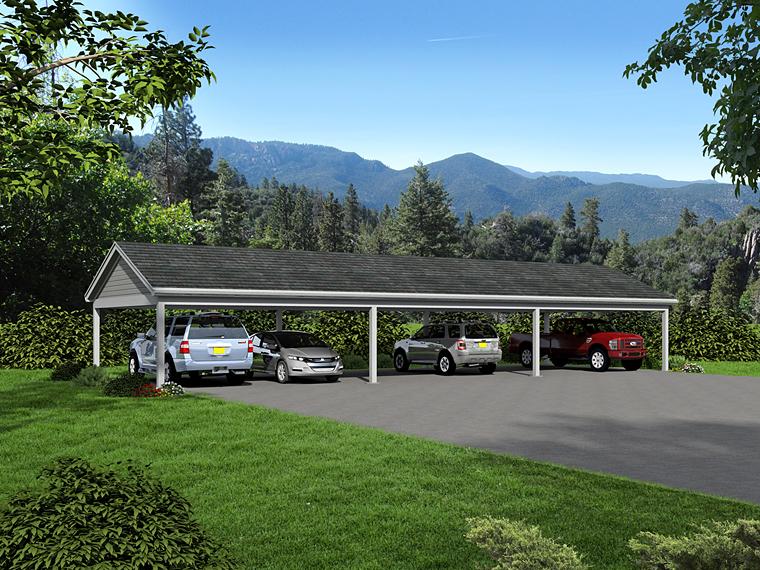 Garage Plan 51453 Elevation