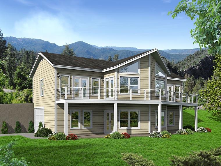 Plan 51460 familyhomeplans for Upslope house designs